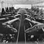 British Boston and A-20 bombers on assembly line 1941