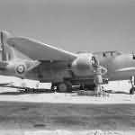 Captured RAF Douglas Boston III Africa