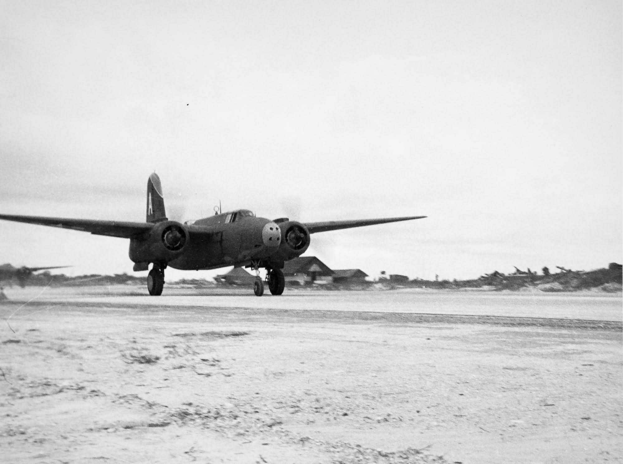 """A-20 """"A"""" of the 417th Bomb Group"""