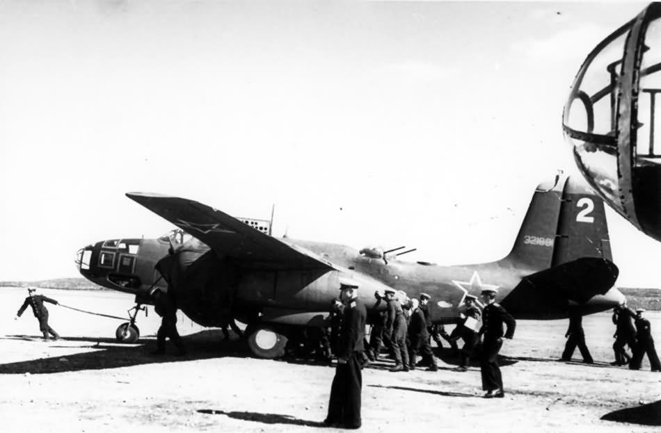 Soviet A-20G serial 43-21891 1944