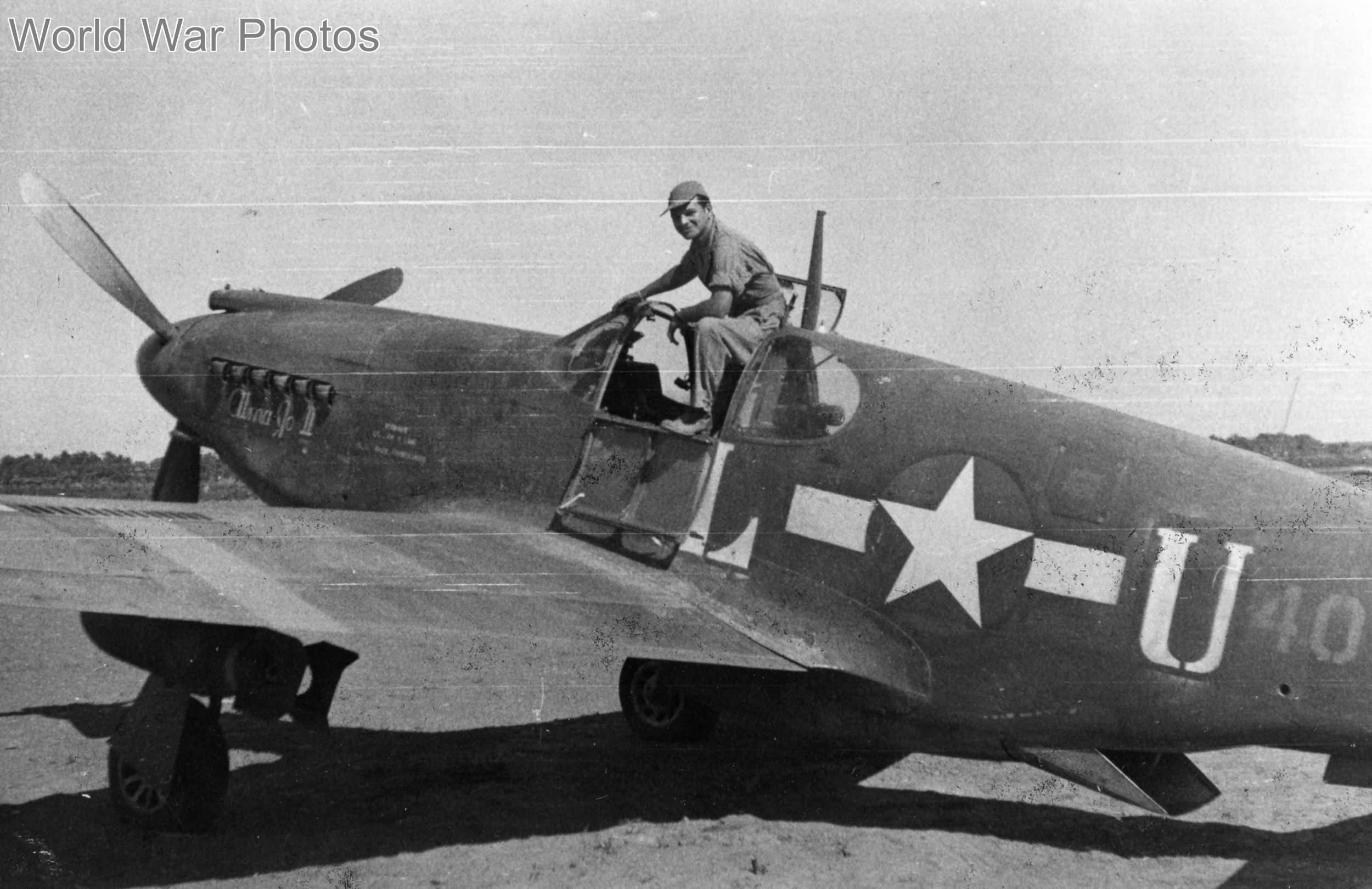 """A-36 named """"Alma go II"""""""