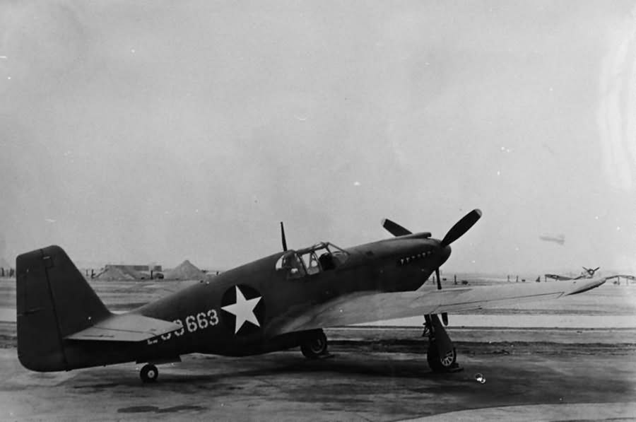 North American A-36A serial 42-83663