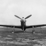 Front view of an A-36 – England 1943