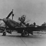 A-36 with bazooka rocket tubes 1944