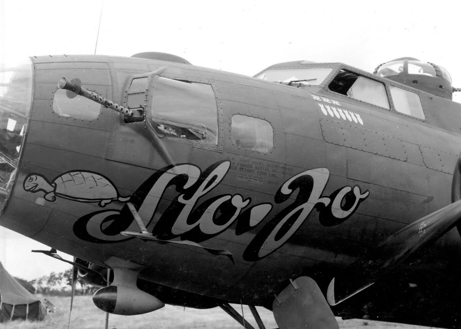 Kia Of Dayton >> B-17F Flying Fortress Slo Jo Nose Art of the 385th Bomb ...