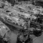 B-17F Flying Fortress bombers – Boeing Factory Seattle 1942