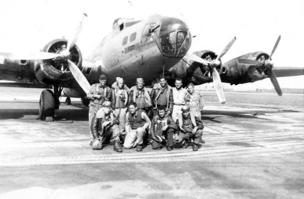 B-17F Flying Fortress and Crew 8th Air Force