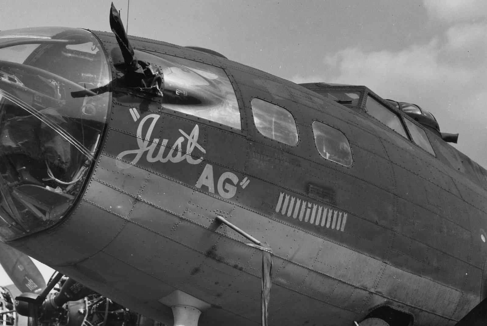 B-17 Flying Fortress 388th Bomb Group Just AG