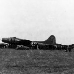 """German B-17 Flying Fortress DL+XC """"Wulfe Hound"""""""