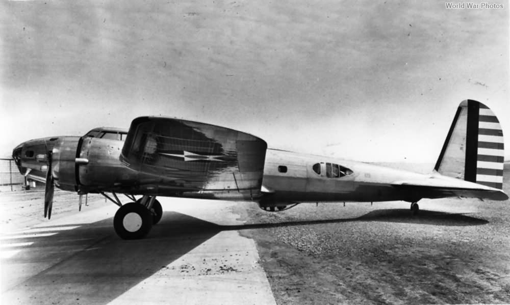 Boeing B-17B 38-211 Wright Field