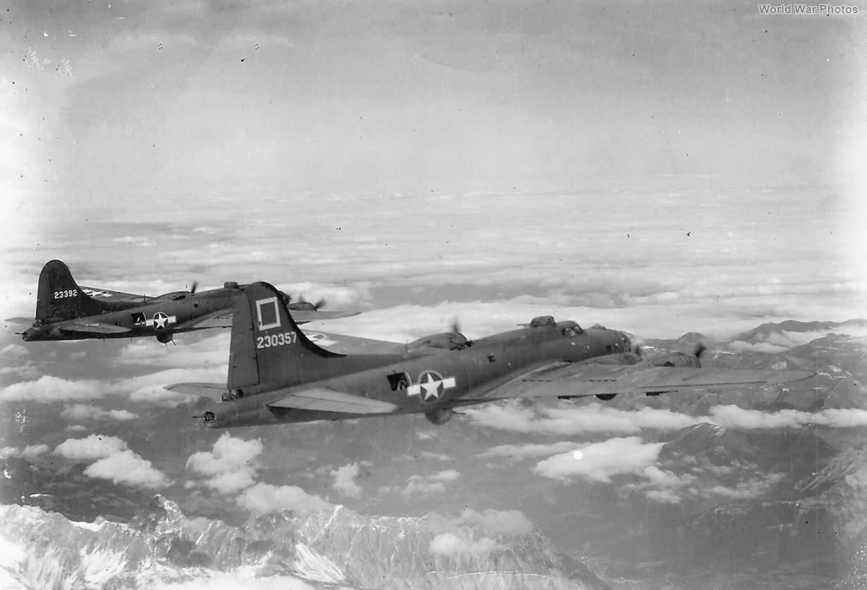 B-17F 42-30357 and 42-3392 301st BG