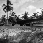 B-18A Bolo on the ground Panama 1942