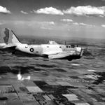 Canadian Douglas Digby RCAF 751 in flight
