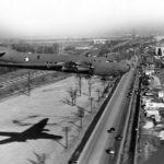 Douglas XB-19 38-471 in flight 1942
