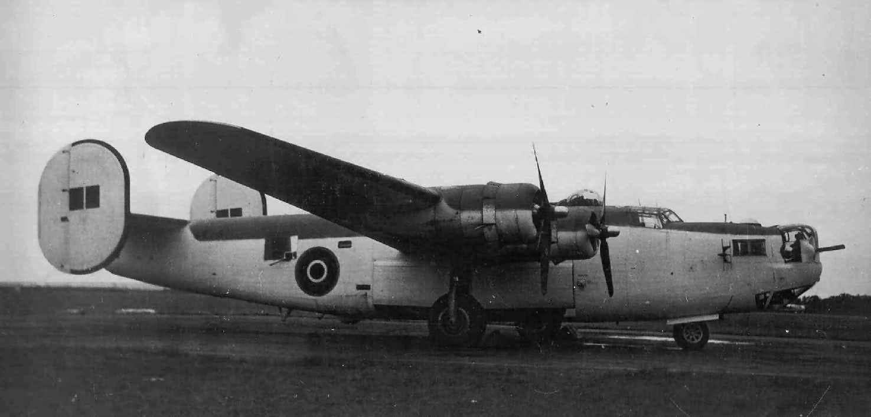 RAF Coastal Command Liberator Mk I Patrol Plane