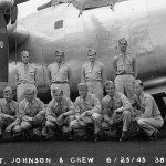 38th Bomb Squadron 30th BG Aircrew Posed by Their B-24