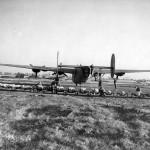 44th BG B-24 Liberator Preparing to Load Bombs England