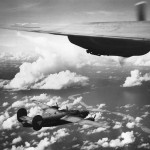 7th Army Air Force 30th Bomb Group, 392nd BS B-24 Liberators over Truk 1944