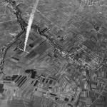Aerial Photo B-24 Liberator Shot Down Over Germany 1944