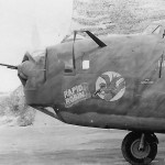 "B-24D 41-24170 ""Rapid Robin"" of the 11th Bomb Group 431st Bomb Squadron"