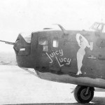 "B-24D 42-40074 ""Juicy Lucy"" of 11th BG"