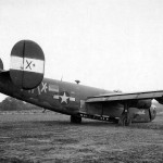 "B-24H serial 42-95020 ""Lonesome Lois"" code MK-X+ of the 701st BS 445th BG 13 July 1944"