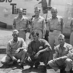 """B-24J Liberator serial 44-40757 """"Big Time Operator"""" And Crew"""