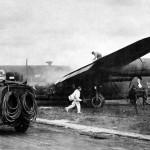 "B-24J Liberator 42-109810 named ""Sterile Errol"" of the 330th BS 93rd BG 8th AF"