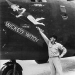 "B-24D 42-40688 ""Wicked Witch"" of the 11th Bomb Group, 42nd BS after Wake Island Raid 1943"
