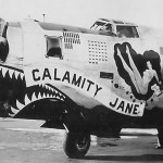 "B-24 44-42019 ""Calamity Jane"" of the 308th Bomb Group 374th Bomb Squadron"