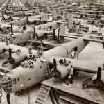 B-24 Liberators ASSEMBLY line