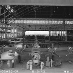 B-24 Liberator Aircraft Assembly Line August 1943