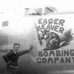 B-24 named Eager Beaver Bombing Company 7th BG 492nd BS