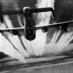 B-24 Liberator of the 15th AF – bomb bay doors open