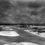 USAAF Airfield with bombers B-24 Italy 1944