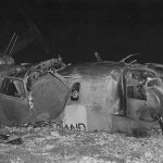 Wreckage of B-24J The Chambermaid 42-100227 of the 38th Squadron 30th BG – Saipan September 1944