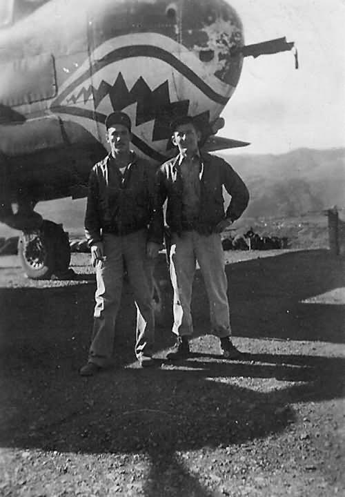 B-25 Mitchell bomber shark mouth 1944