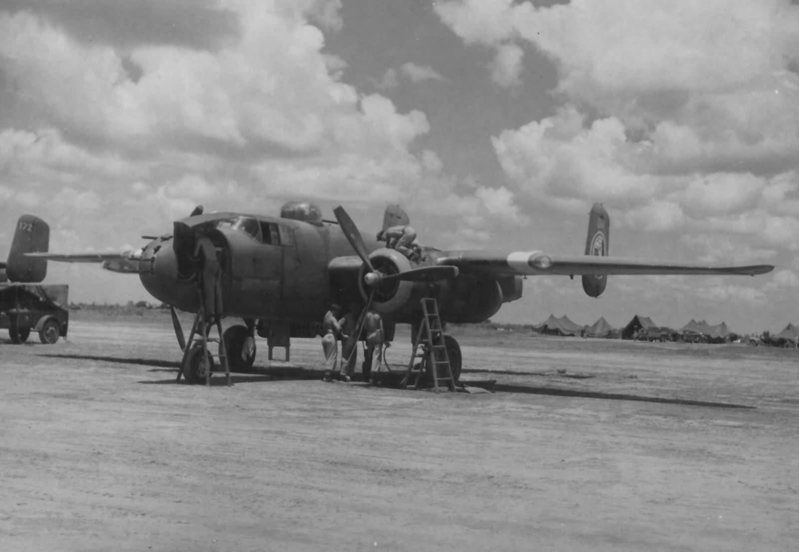 B-25J Mitchell Gunships 345th Bomb Group