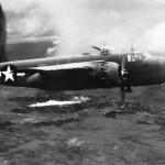 341st Bomb Group B-25H Mitchell with 75mm gun Tengchung China 1944