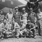 Aircrew Posed by Their B-25 Mitchell