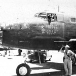 B-25C Mitchell Pappys Folly 3rd Bomb Group