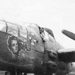 B-25J Mitchell Gunship Bomber SHERIDAN nose art