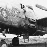 B-25J Mitchell nose art Sheridan