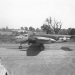 B-25J Mitchell 340 BG 489 BS Taking Off From Airstrip