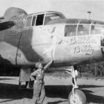 B-25J Mitchell Battlin Betty Nose Art