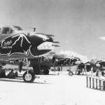 B-25J Nose Art Bat Outa Hell Ie Shima 499th Bomb Squadron 345th BG 1945