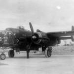 B-25J Strafer Pretty Pat nose art 499 BS
