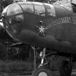 B-25 Mitchell 38 Bomb Group 1942 Lucky Star nose art