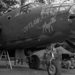 B-25 Mitchell 38 Bomb Group 1942 Outlaw nose art