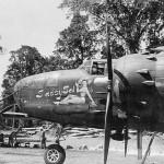 B-25 Mitchell Bomber SASSY SAL nose art
